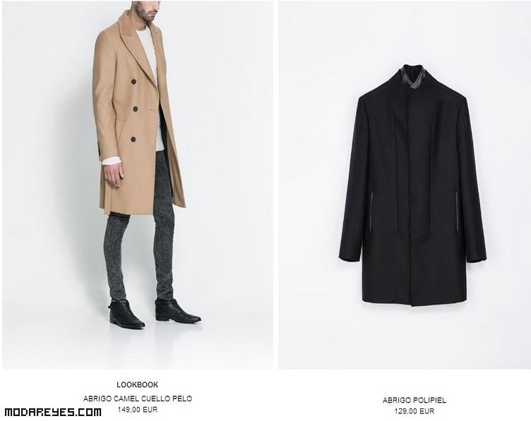 abrigos color camel de moda