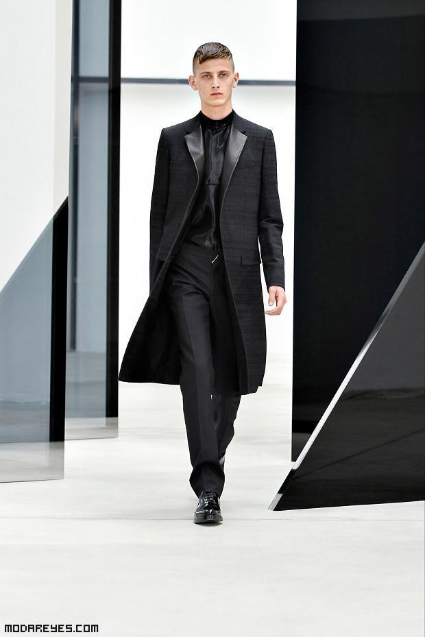trajes con abrigos