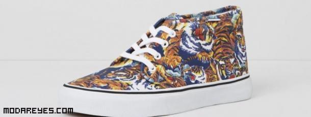 botines de colores a la  moda