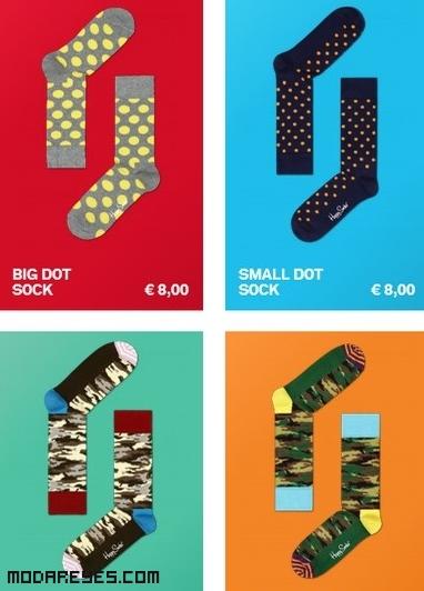 calcetines colores llamativos