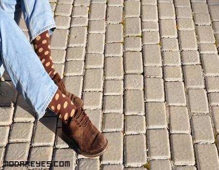 calcetines de moda para hombres