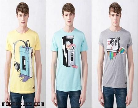 camisetas de colores moda 2013