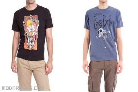 camisetas de moda con dibujos