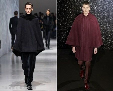 abrigos de colores para hombres