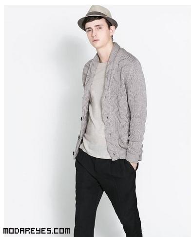 chaquetas de punto con brillo