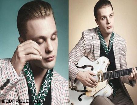 moda vintage hombres