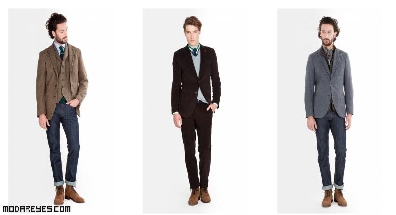 chaquetas para estilos casuales