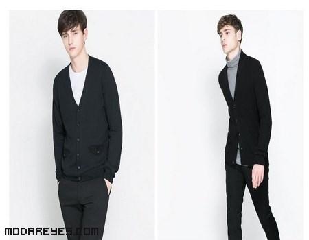 chaquetas de moda en color negro