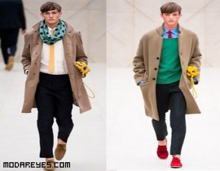 moda masculina de colores