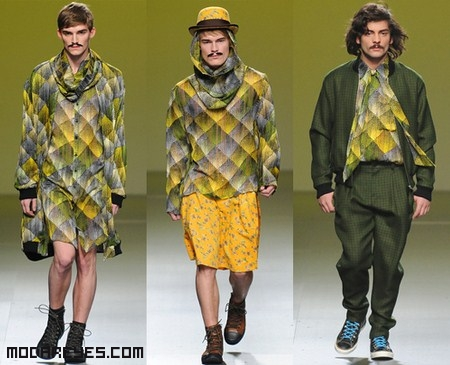 Moda para hombres vanguardistas