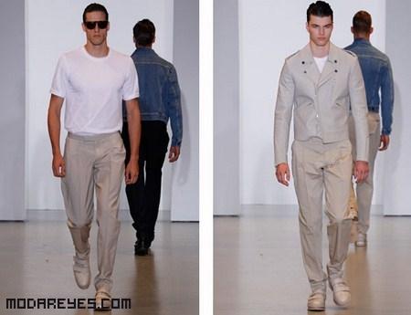 Pantalones de tela