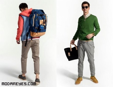 Moda para hombres aventureros