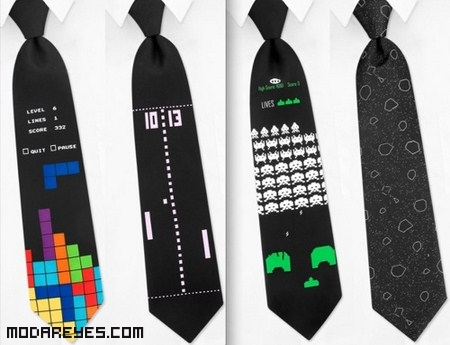 Corbatas negras elegantes