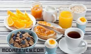 Desayuno bajos en calorías