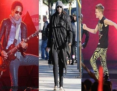 famosos de moda
