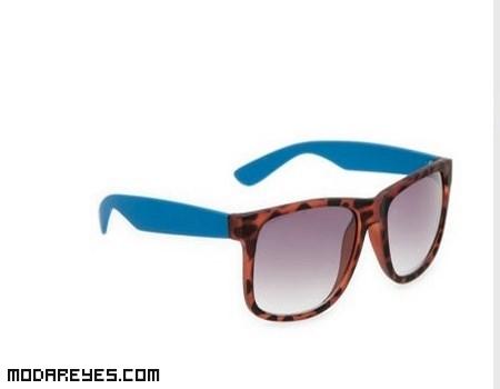 gafas bicolor de moda
