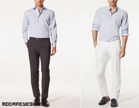 camisas formales de colores