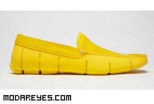 zapatos amarillos para verano