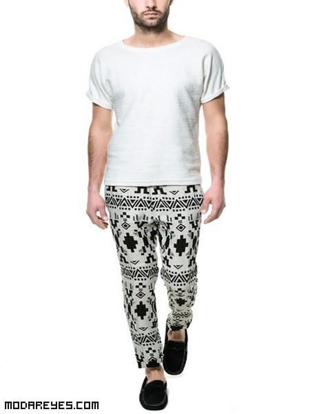 Pantalones de tela para hombres