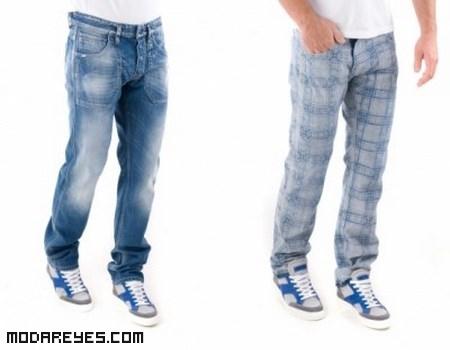 jeans de moda reversibles