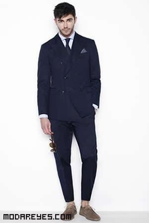 pantalones de tela a la moda