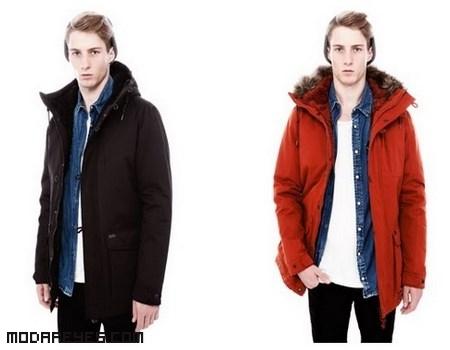 abrigos de moda para hombre