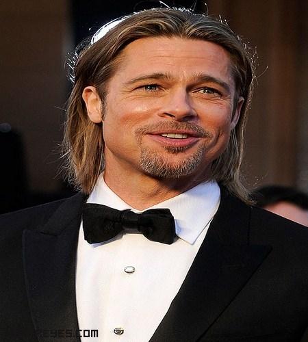 Brad Pitt en los Óscars
