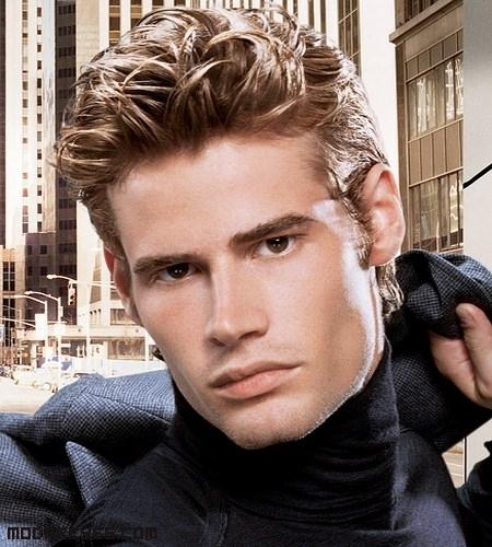 Cortes De Pelo Hombres Segun Rostro Redondo Peinados Con
