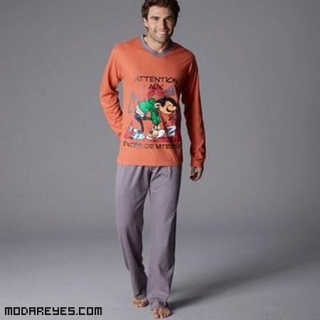 Pijamas de hombre en colores