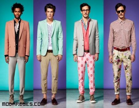 pantalones estampados de moda