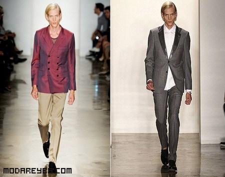 Colores de moda para hombres