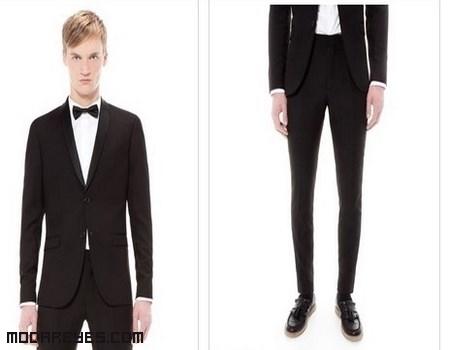 trajes de chaqueta color negro
