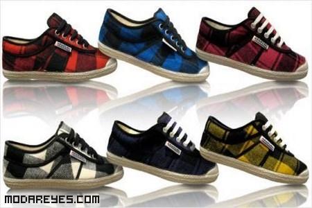 zapatillas de deporte tela