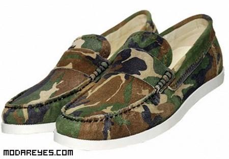 zapatos militar de moda