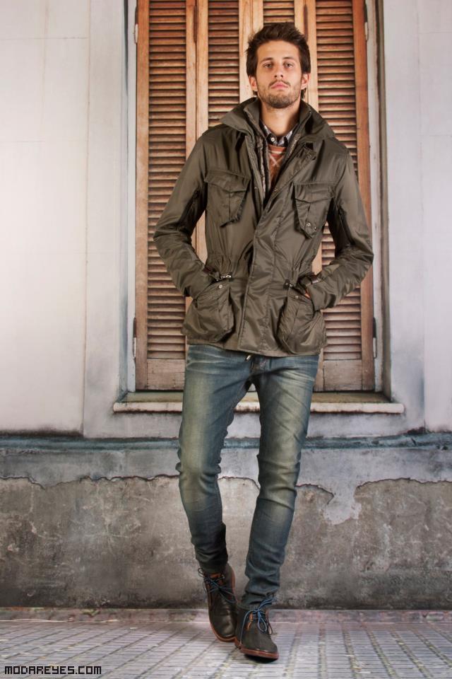 cazadoras de moda para hombres