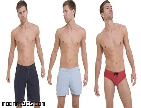 trajes de baño para hombres modernos