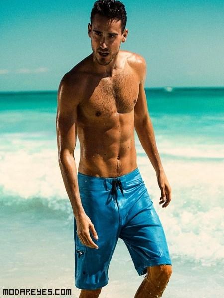 bañadores azules de H&M