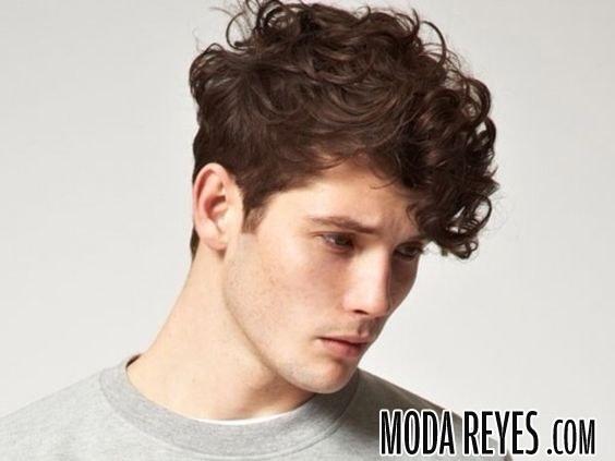 cabello hombre con volumen