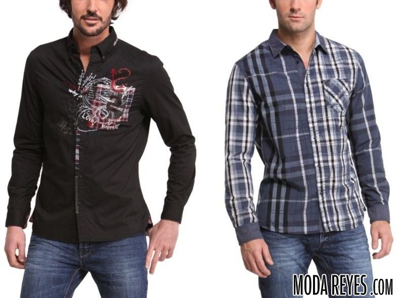 camisas otoño Desigual
