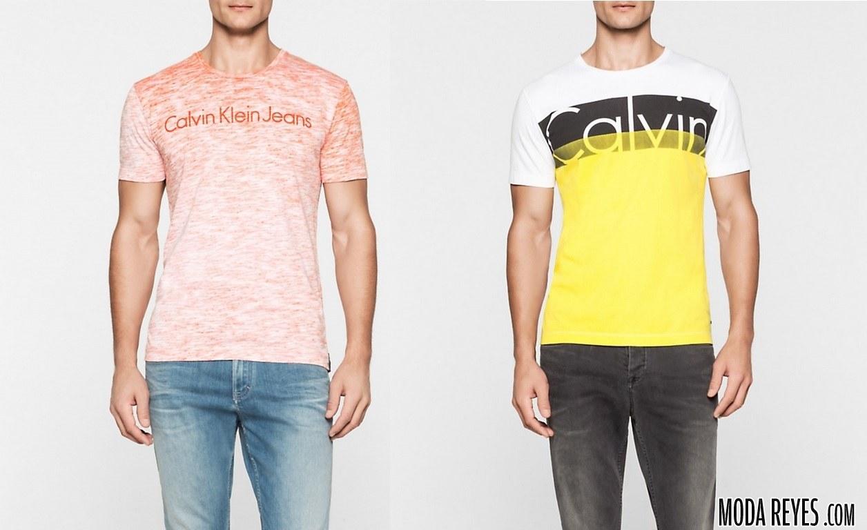 camisetas 216 calvin klein