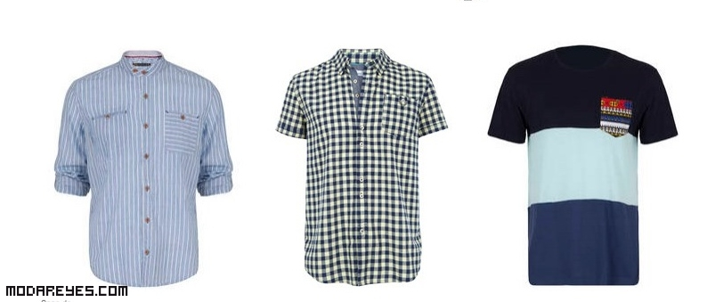 camisas de moda estampadas