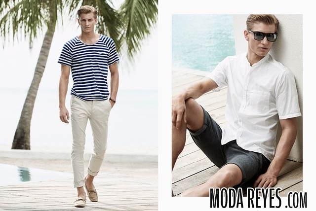 camisetas y camisas h&m