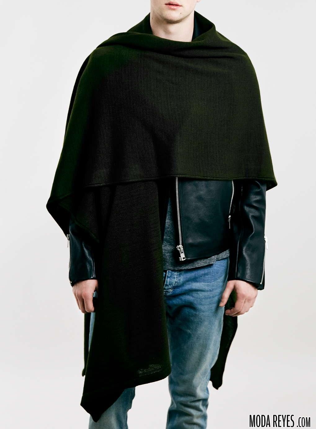 capa en color negro de topman