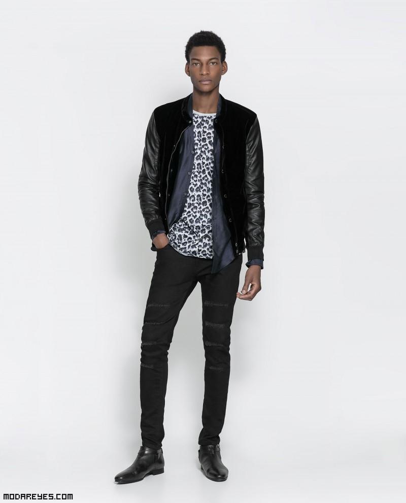 prendas de moda en color negro