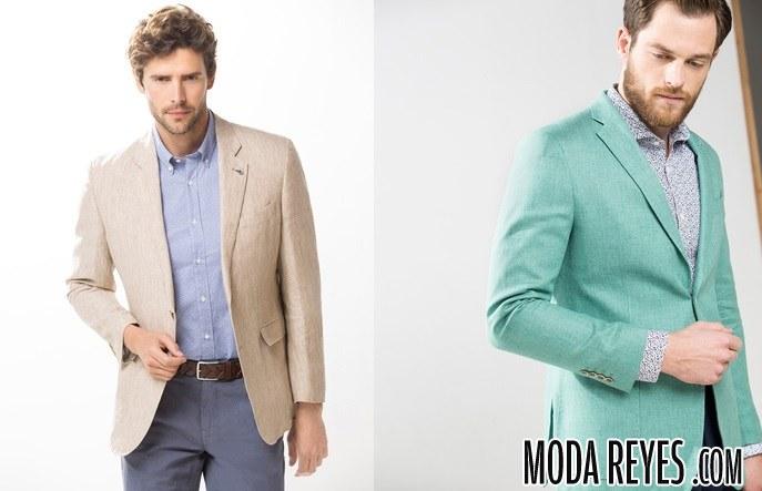 chaquetas en color de cortefiel