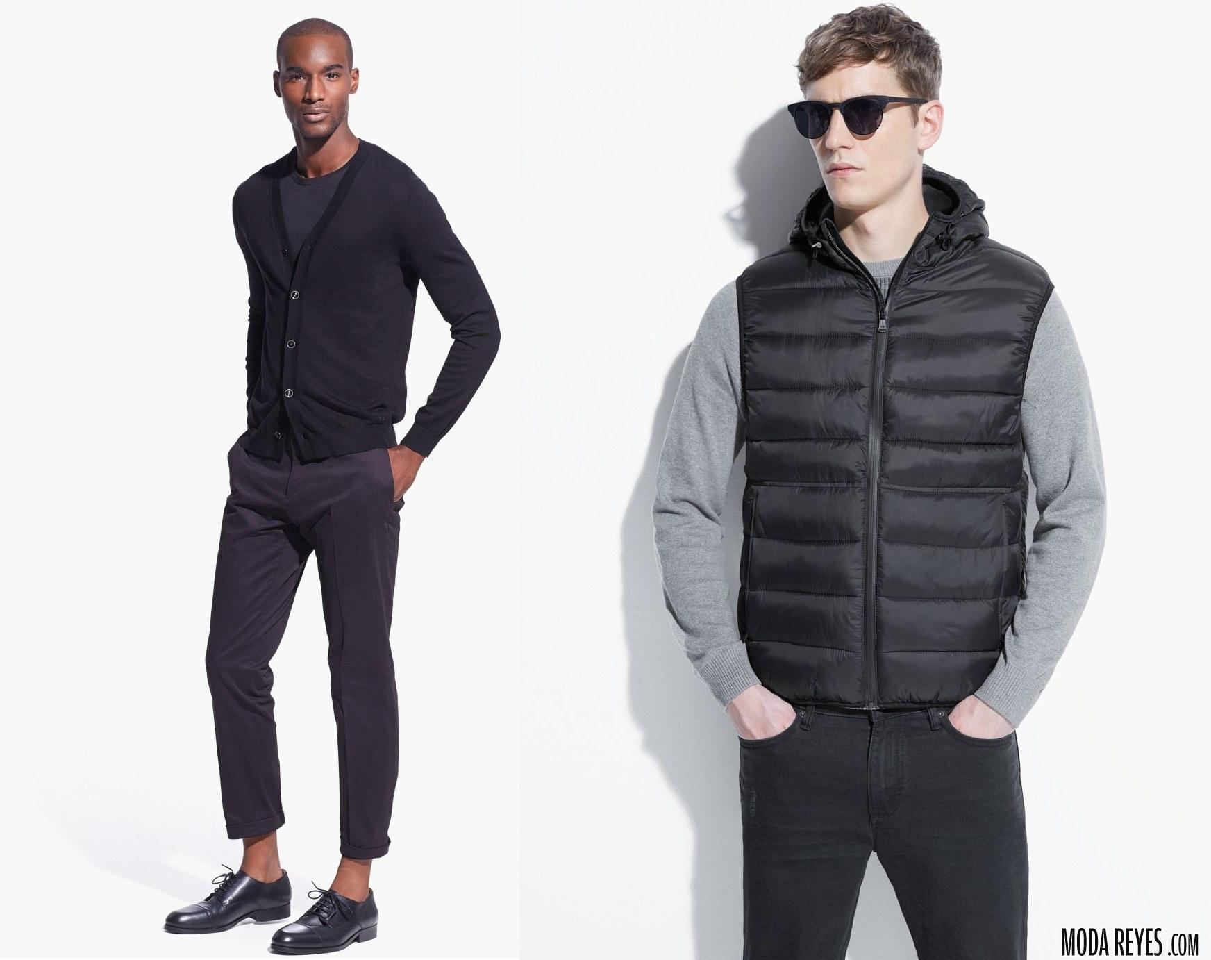 chaquetas y chalecos mango
