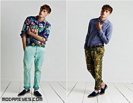moda juvenil con estampados