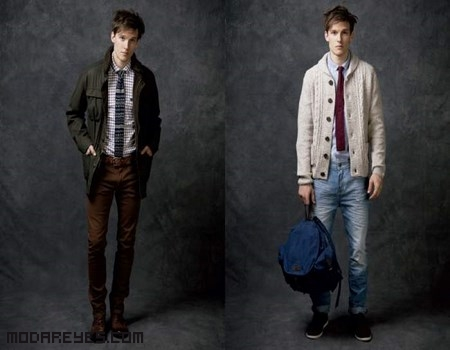 parkas de moda para hombre