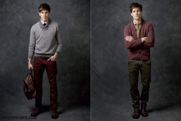 pantalones de colores a la moda