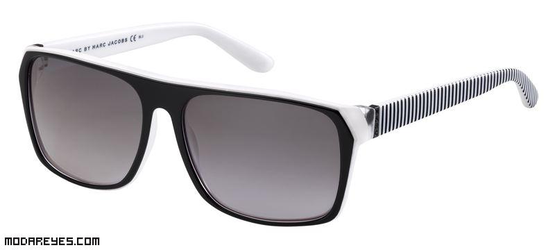 gafas con rayas